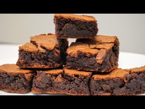 Chewy Fudgy Brownies Recipe |Chocolate Brownies without Cocoa Powder |Chewy Chocolate Brownie Recipe