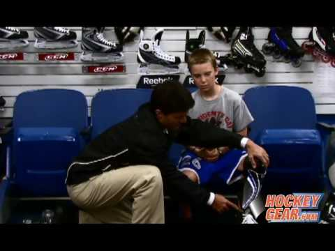 Hockeygear.com Clips with Tips  Properly Fitting Shin Guards