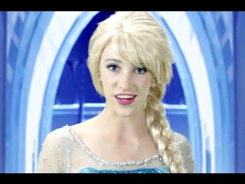 Disney Frozen Elsa Let it Go - In Real Life