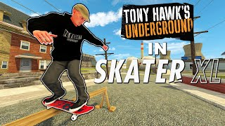 Tony Hawks Underground in Skater XL - NEW JERSEY MAP | NS AND CHILL EP. 42