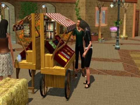 The Sims 3 Store: Fruit and Veggie Stand