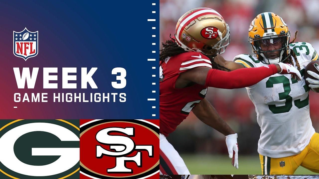 Packers vs. 49ers Week 3 Highlights | NFL 2021