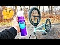 I Sprayed Hair Spray On My BMX Tires, And This Happened!