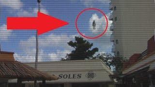 Bizarre Flying Humanoid Filmed Above The Skies Of Australia