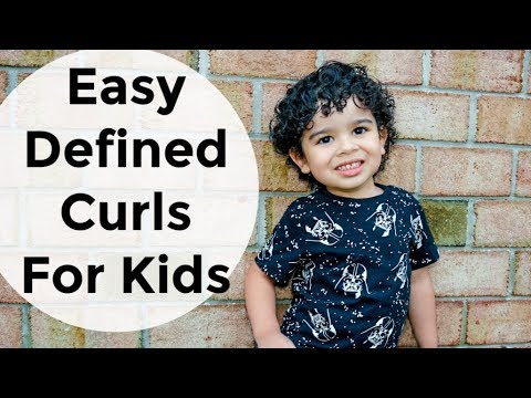 DEFINED Finger Coils   Easy Hair Tutorial Comb Coils on Short Natural Hair   Curly Hair   Toddler
