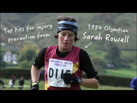 Top tips for injury prevention from 1985 London Marathon British Record Breaker Sarah Rowell