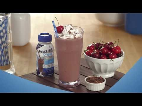 Rich Dark Chocolate Cherry Smoothie Recipe