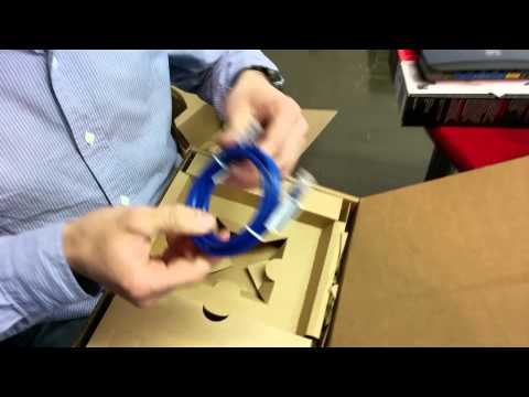 Unboxing of the Cisco EA3500 - Best reaction ever!