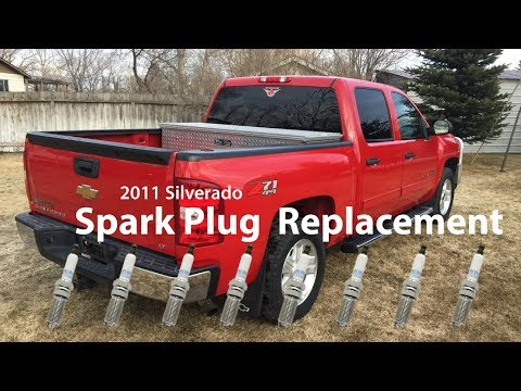 2011 Silverado: How to replace the Spark Plugs
