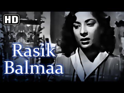 Rasik Balma Dil Kyon Lagaya (HD) - Chori Chori (1956) - Nargis - Raj Kapoor - Best of 50's Song