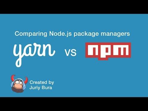 Facebook Yarn vs NPM