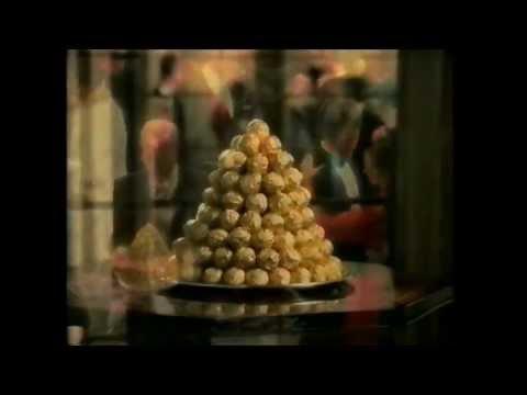 Television Archive: Ferrero Rocher ambassador's reception UK TV commercial advert 1990s