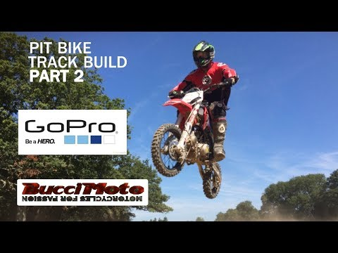 Evolution of a Pit Bike Track Part 2 with GoPro