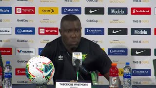 Press Conference: Theodore Whitmore - Jamaica (1) - (0) Panama - Gold Cup 2019