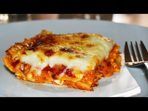 Tuna Lasagna - Easy Homemade Lasagna Recipe