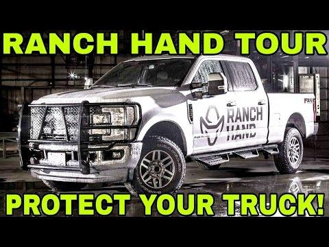 Ranch Hand Bumper Factory Tour!  Making a beast!