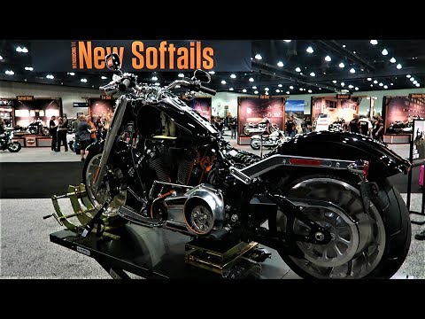 2018 Harley-Davidson Softail Chassis Revealed│H-D Engineers Give us a Walk-Through│All the Details