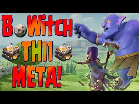 NEW TH11 BOWITCH META | TOP War Attack Strategy | Clash Of Clans