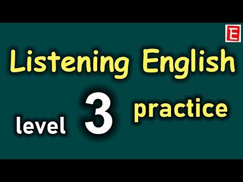 English Listening Practice Level 3 | Learn English Listening Comprehension | English 4K