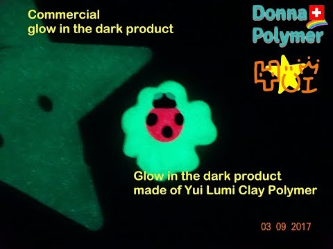 Yui glow in the dark red - stronger than usual ones!