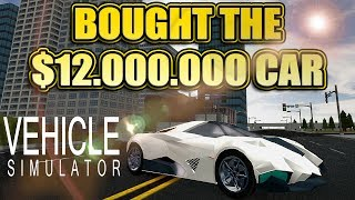 Roblox Vehicle Simulator Ep 10 Blue Locus Bought Me A Car