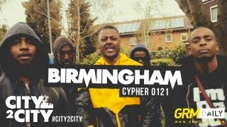 #CITY2CITY: Birmingham 0121 Cypher [GRM DAILY]
