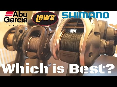 Abu Garcia - Lews - Shimano - Which One is Better? 2017 Rod/Reel Arsenal - VLOG #5