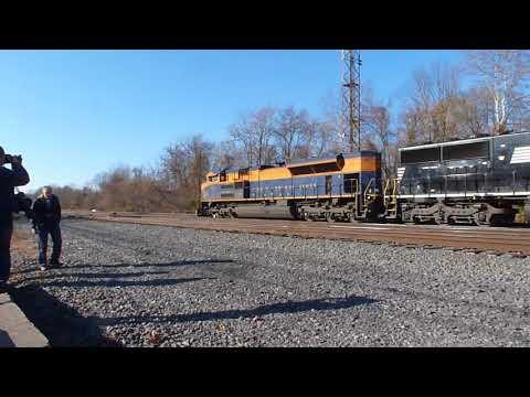 NS 39G 1071 CNJ Heritage Unit Abrams Yard