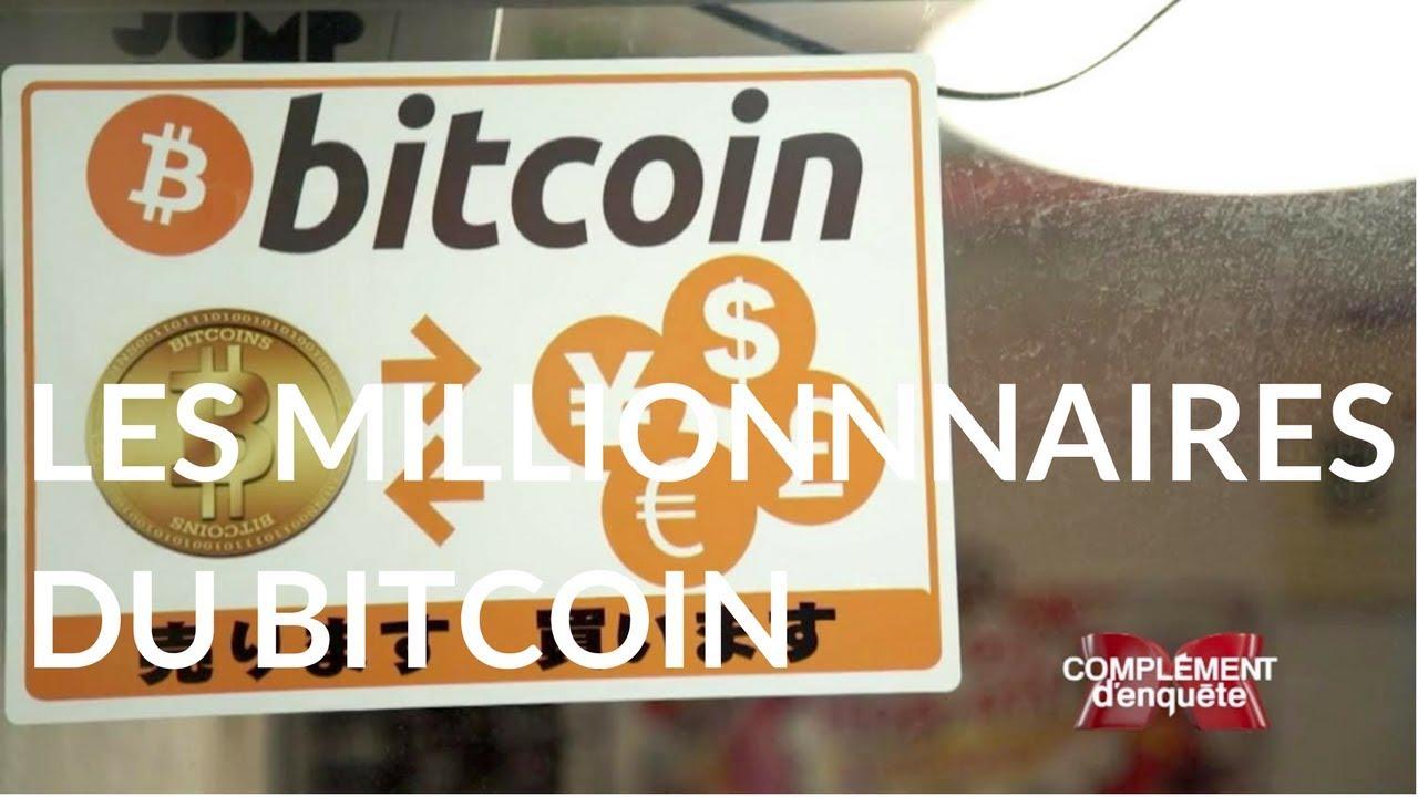 Complément d'enquête. Les millionnaires du bitcoin - 12 octobre 2017 (France 2)