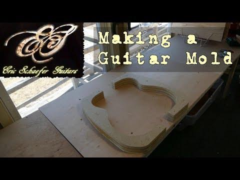 Making a Guitar Mold - Eric Schaefer Guitars - Online Guitar Building School