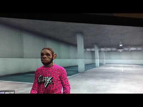 GTA five garage wall breach