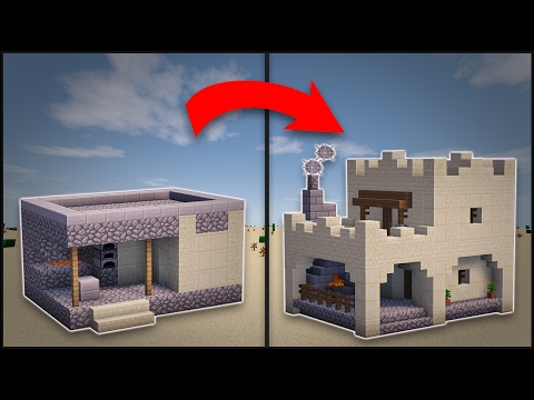 Minecraft: How To Remodel A Desert Village Blacksmith