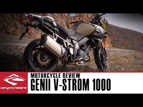 Suzuki DL1000 V-Strom GenII 2014 CanyonChasers Review Test Ride