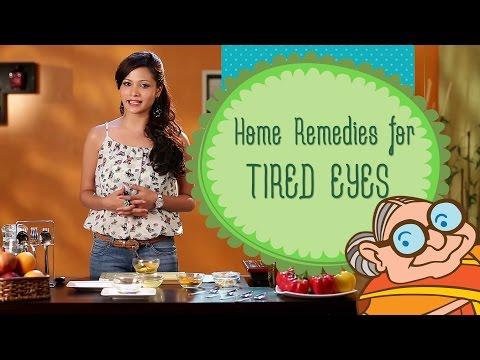 Beauty Tips - Get Rid Of Tired Eyes and Dark Circles - Natural Home Remedies - DIY