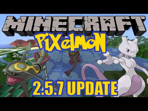 Minecraft Pixelmon 2.5.7 Update - Legendary Spawn Options, New Configure System + More!