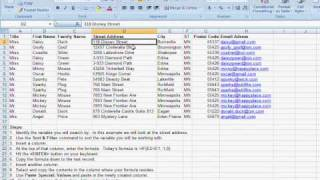 Find Duplicate Information In An Excel Database