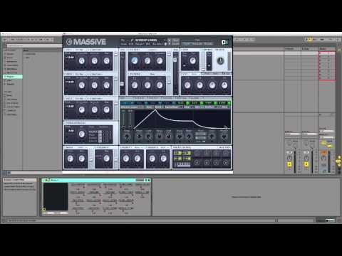 How to Make Dirty Deep House Bass In NI Massive