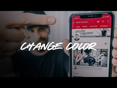 How to Change Your Youtube Channel Color on Mobile