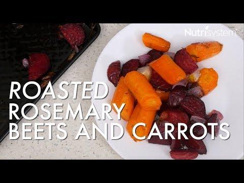 Fall Veggie Recipe: Roasted Rosemary Beets and Carrots