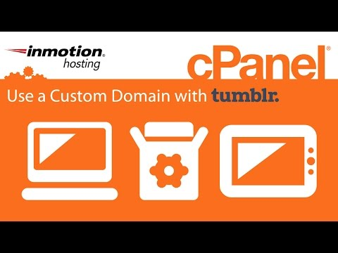 How to Use a Custom Domain with Tumblr