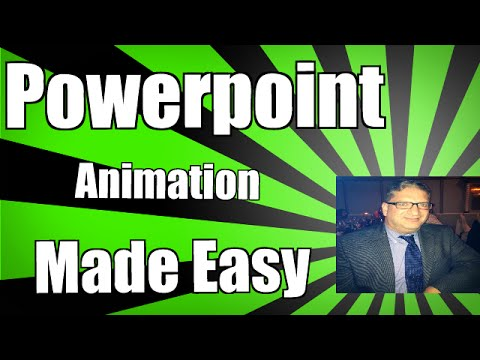 Animation in PowerPoint 2010 2013 2016 animation tutorial for beginners