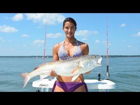 Hilton Head Fishing for BIG BULL REDFISH!