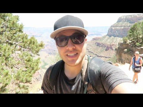 HIKING THE GRAND CANYON BRIGHT ANGEL TRAIL