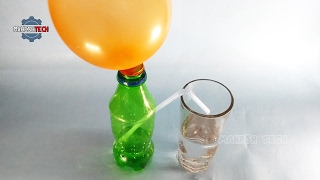 Air Pressure On Water - Physics Science Experiments