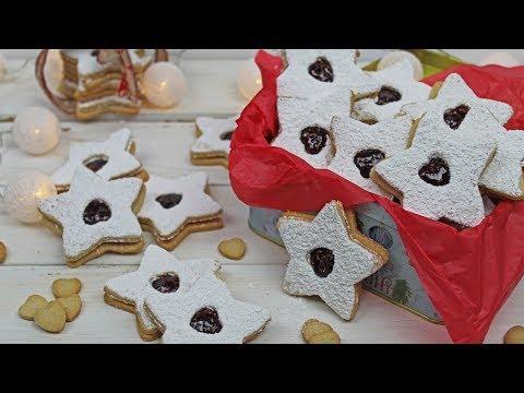 Linzer Cookies Recipe | Christmas Cookies | Raspberry Linzer Cookies