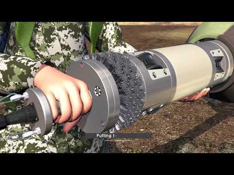 포신자동청소기 gun barrel automatic cleaner
