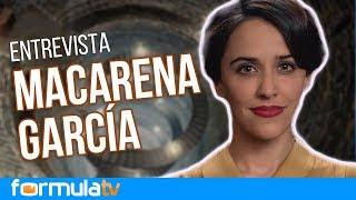 Macarena García confiesa cómo lleva sustituir a Aura Garrido en 'El Ministerio del Tiempo'