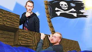 HIDE & SEEK ON A PIRATE SHIP! | Minecraft [Ep 6]