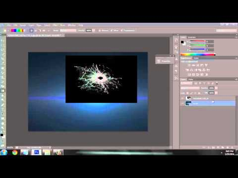 Photoshop CS6: How To Remove A Black Background Off an Image