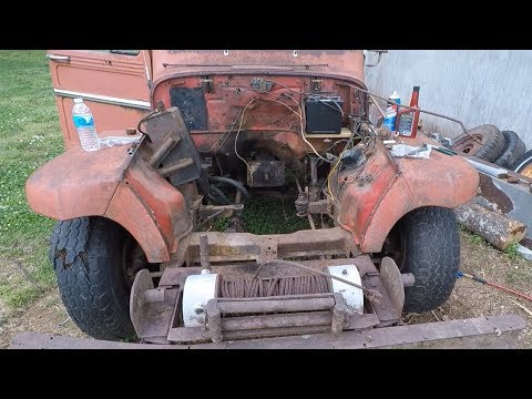 Willys Truck Round 12: Disassembly For Engine Installation